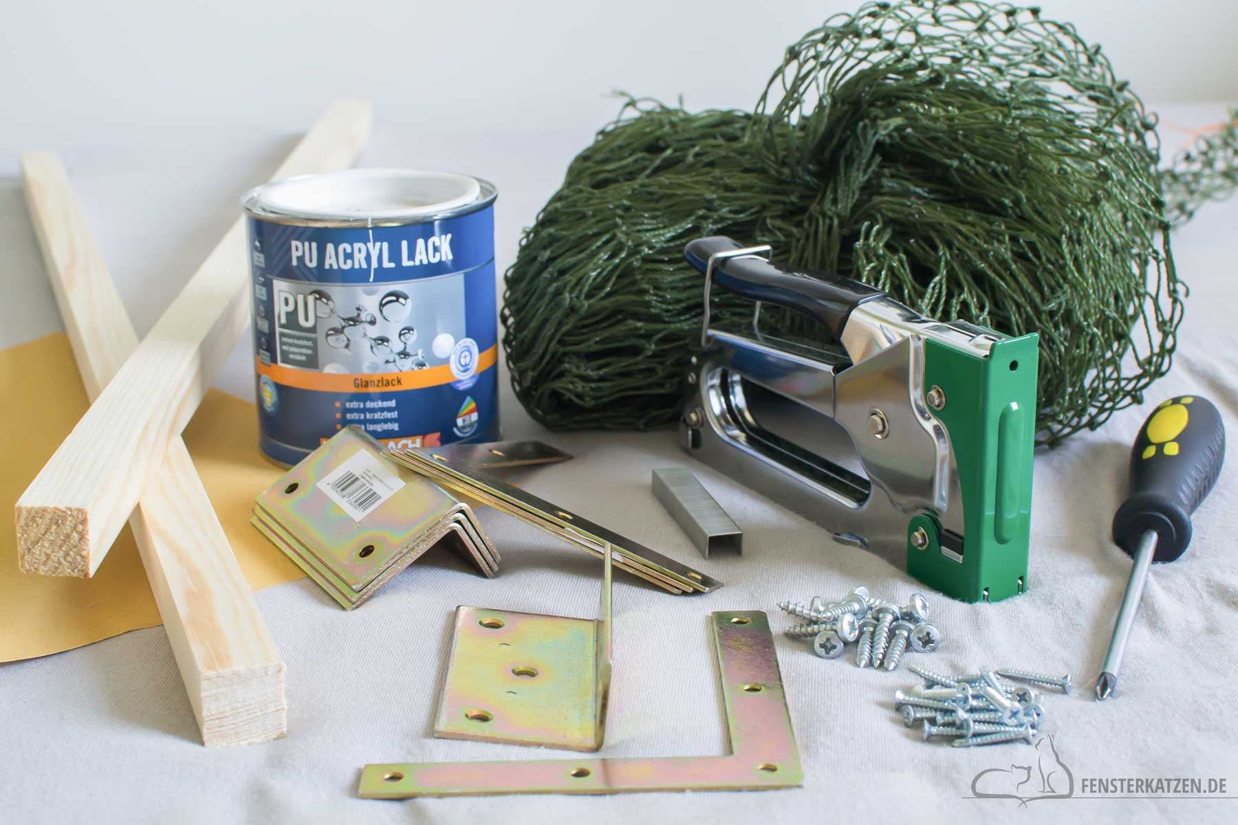 Fensterkatzen-DIY-Do-It-Yourself-Fenstersicherung-Katzen-ohne-bohren-Materialien