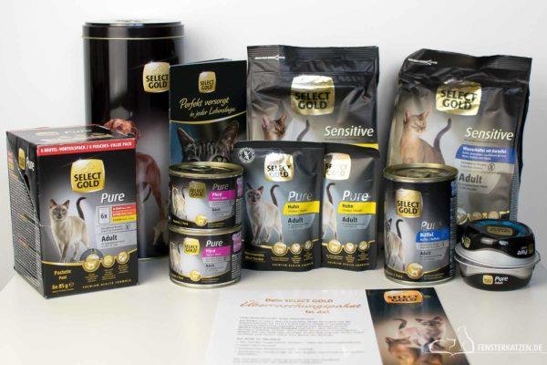 Fensterkatzen-Getestet-Katzenfutter-Select-Gold-Fressnapf-Titelbild