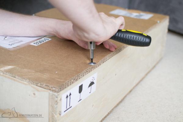 Fensterkatzen-Getestet-Akku-Staubsauger-SpeedPro-Max-Philips-Paket-Werkzeug