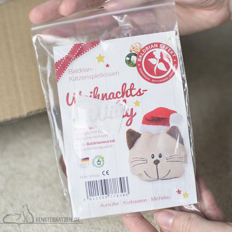 Fensterkatzen-Alltag-Tauschpaket-Katze-Kitten-Kater-Baldriankissen-Verpackung