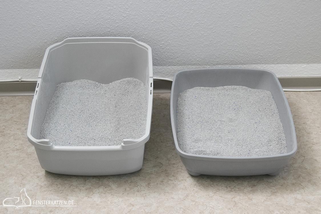 Fensterkatzen-Das-Erste-Mal-Das-Katzenklo-befuellen-Fuellmenge-Vergleich