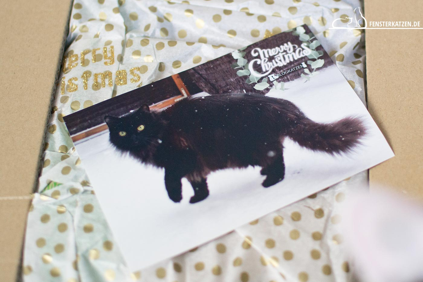 """Tauschpaket mit den """"Blogkatzen"""""""