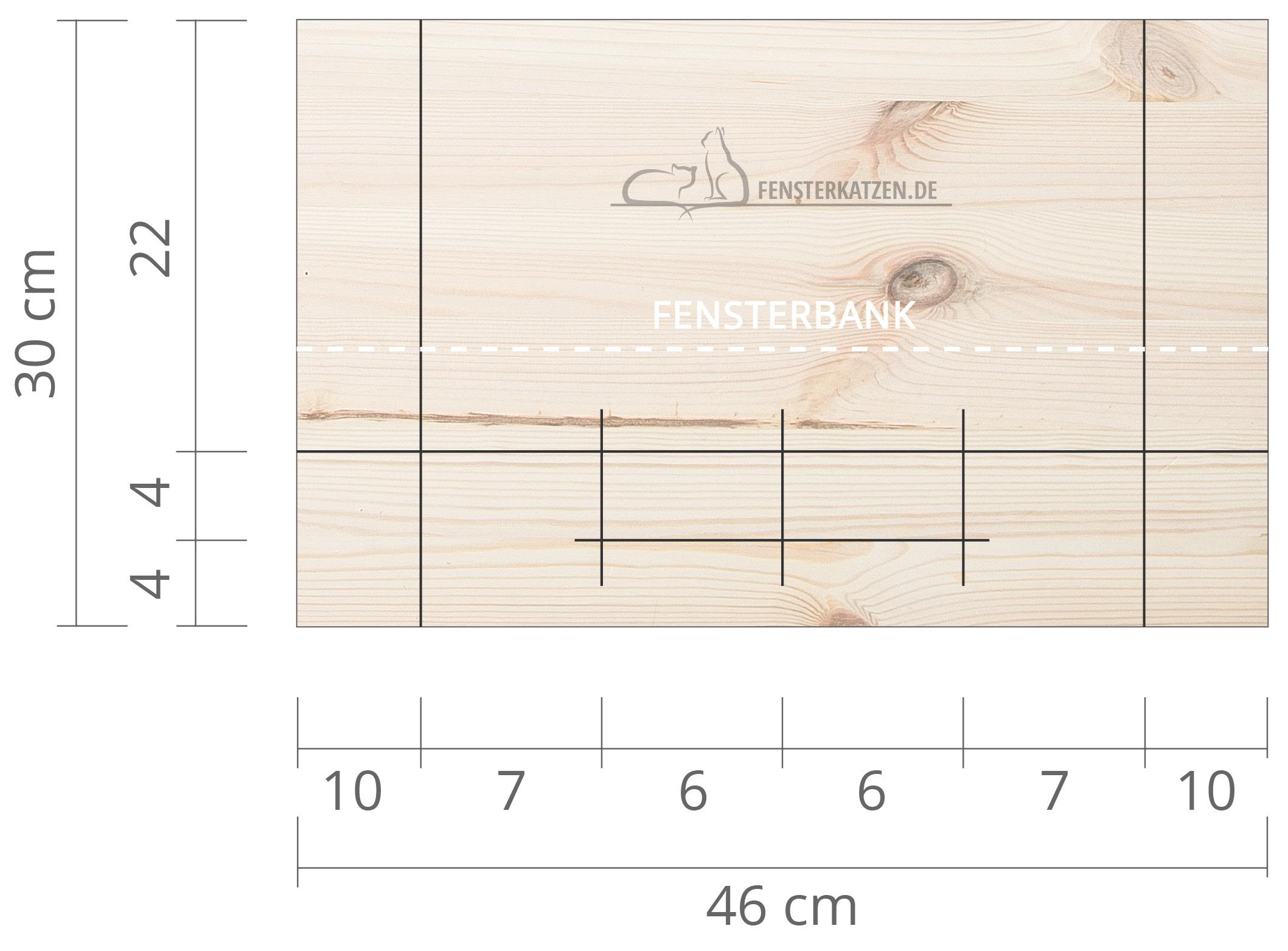 Fensterkatzen-DIY-Fensterliege-hundkatzemaus-Zeichnung-Hilfslinien