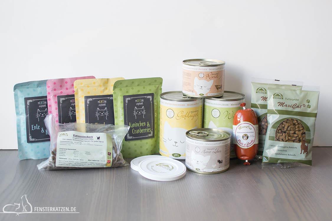 Fensterkatzen-Getestet-Katzenfutter-Leckerlis-Reico-Uebersicht-Produkte