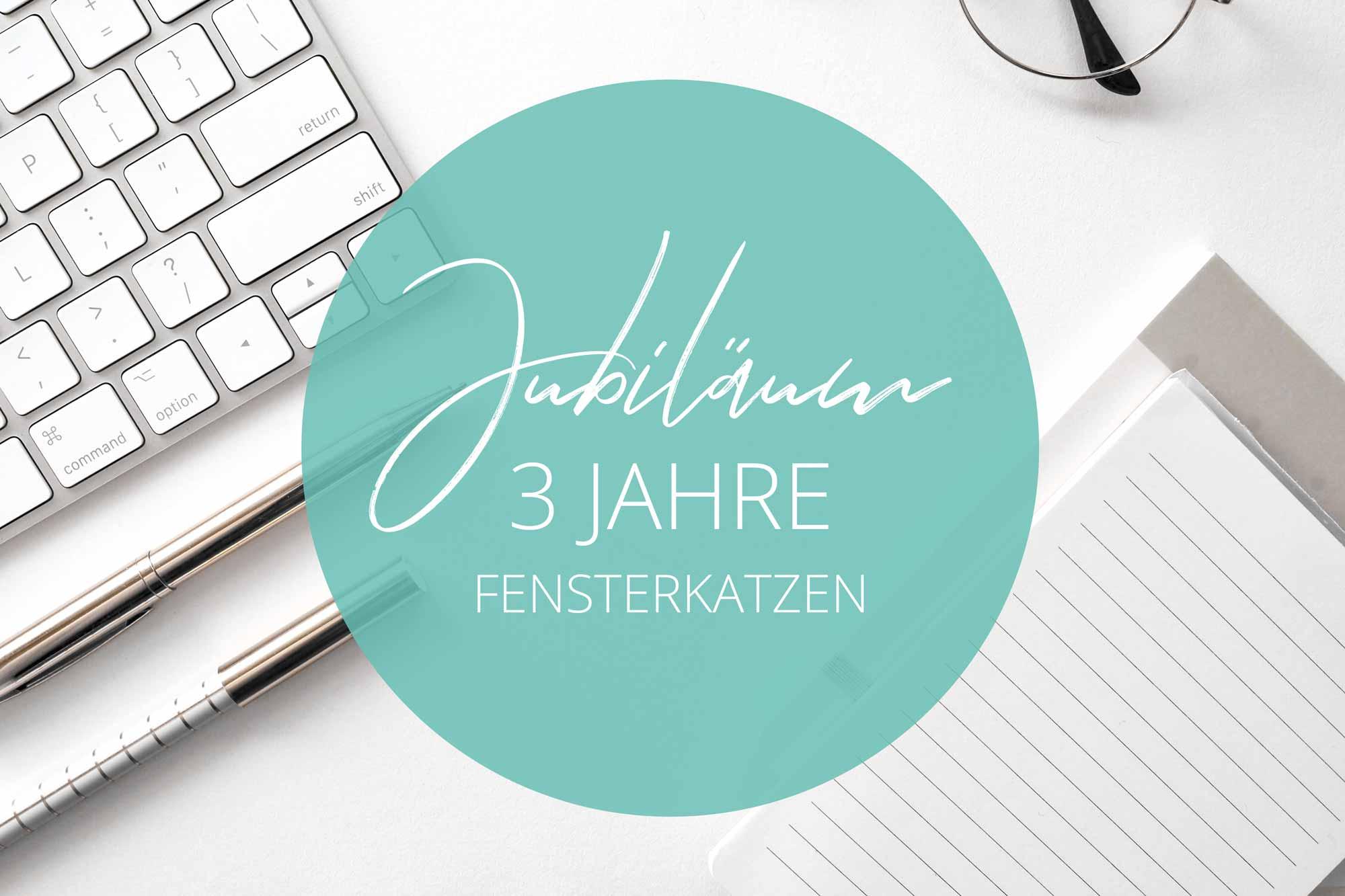 Fensterkatzen-News-Bloggeburtstag-3-Jahre-Jubilaeum-Titelbild