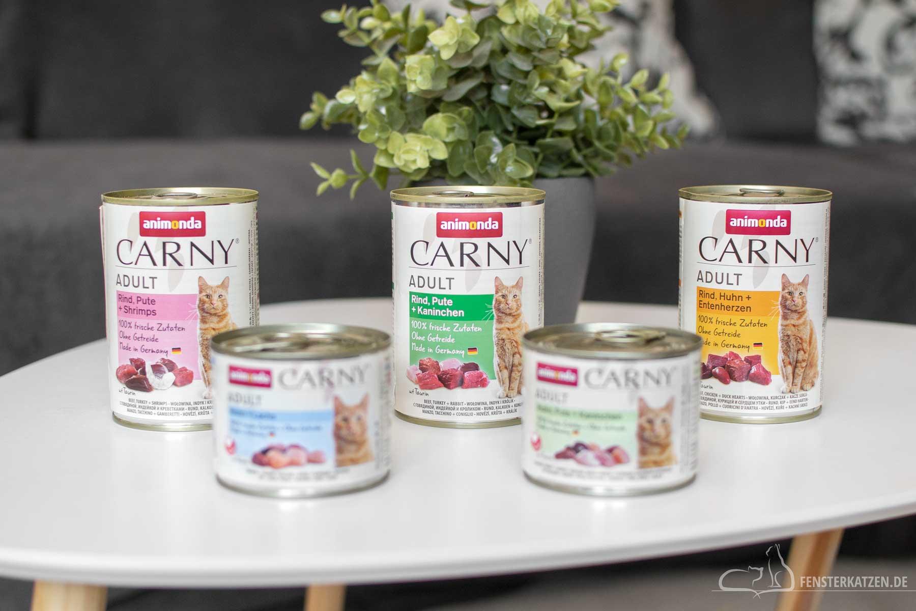 Fensterkatzen-Ratgeber-Animonda-Carny-Adult-Sorten-Dosen